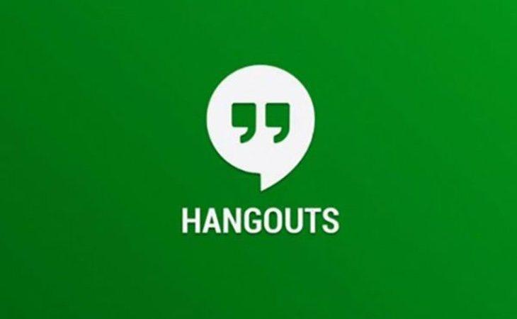 Hangouts es una de las app más conocidas