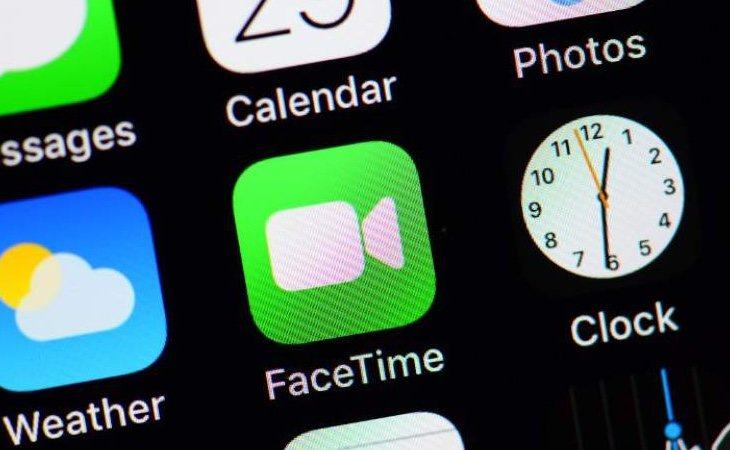 Facetime solo permite conexiones entre teléfonos de Apple