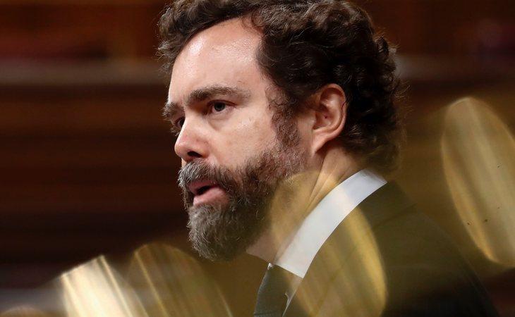Iván Espinosa de los Monteros, portavoz de VOX, sin discurso en plena crisis del coronavirus
