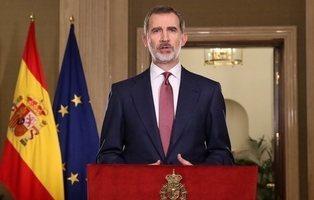 """Felipe VI: """"Debemos dejar de lado nuestras diferencias, tenemos que resistir y aguantar"""""""