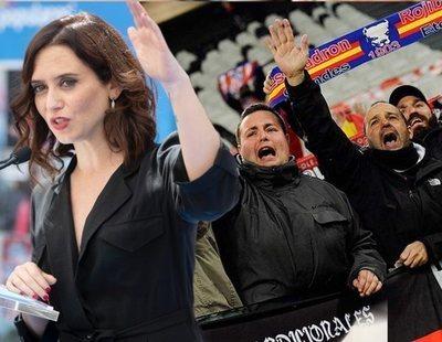 Díaz Ayuso elogia a un grupo de ultraderecha implicado en incidentes de violencia