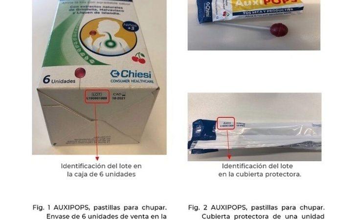 El producto retirado | Fuente: AEMPS