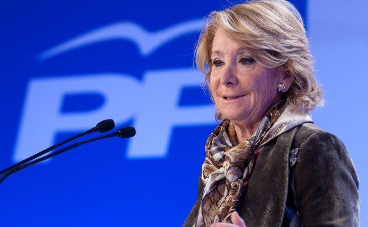 Esperanza Aguirre consiguió su mayor relevancia mediática cuando ejercía como presidenta de la Comunidad de Madrid