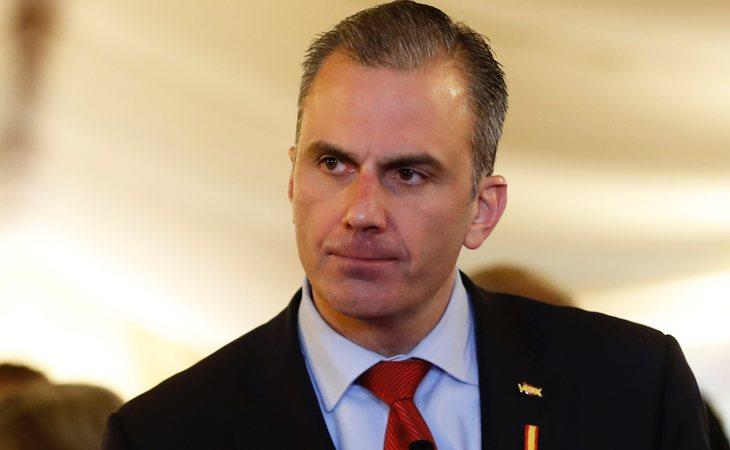 Javier Ortega Smith, positivo en coronavirus