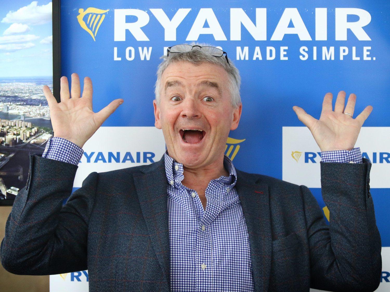 Ryanair recortará el sueldo de sus empleados un 50% por el coronavirus