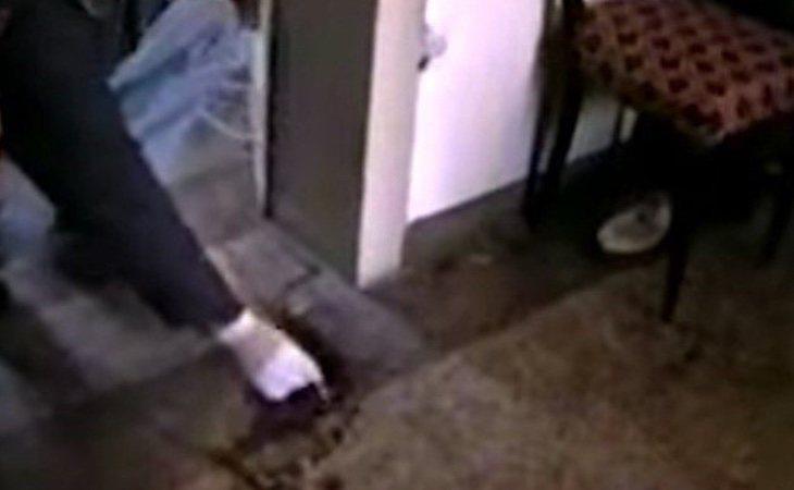 La escena de uno de los crímenes perpetrados por Milena Quaglini