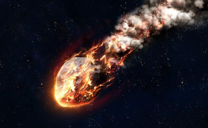 El asteroide viaja a 16.000 kilómetros por hora