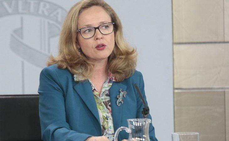La ministra de Economía, Nadia Calviño, es una de las más reticentes a la amplicación de las restricciones