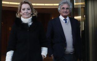 Aguirre, con habitación reservada en la sanidad pública junto a su marido y el sistema colapsado