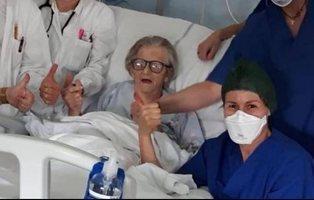 Alma Clara, el símbolo de la esperanza en Italia: ha superado el coronavirus con 95 años