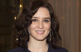Ayuso, reconocida por el Financial Times como ejemplo de lucha contra el coronavirus