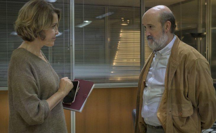 La química entre Javier Cámara y María Pujalte es uno de sus puntos fuertes