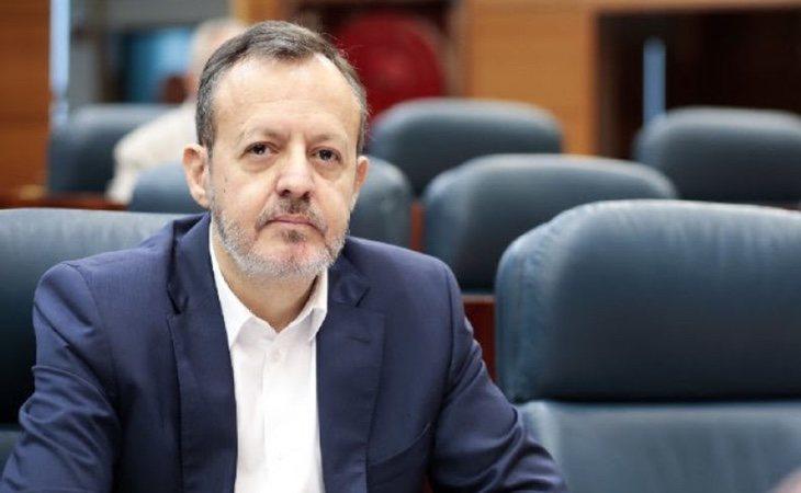 El consejero de Políticas Sociales, Familias y Natalidad de la Comunidad de Madrid, Alberto Reyero