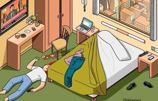 'Crímenes Ilustrados': el mejor pasatiempo viral para pasar la cuarentena