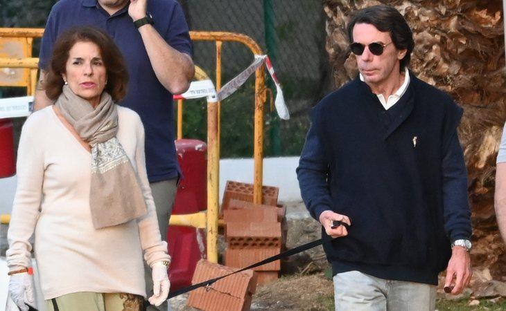 Aznar y Ana Botella, en plena crisis del coronavirus, optaron por irse a su segunda residencia en una villa de lujo de Mabella