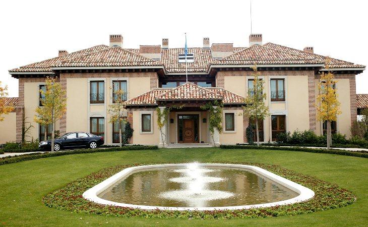 Residencias de los reyes que costó cuatro millones de euros y tardó dos años en construirse