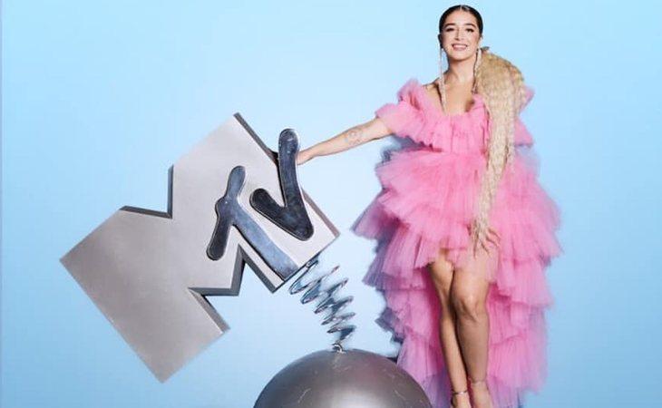 Lola Indigo ganó en 2019 el MTV EMA a mejor artista española