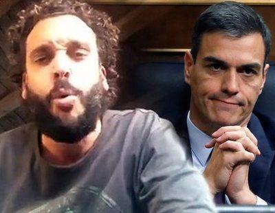 """Spiriman amenaza a Pedro Sánchez por un bulo: """"Voy a hacer que te pudras en la puta cárcel"""""""