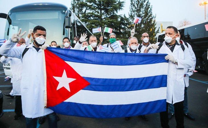 Cuba está ofreciendo ayuda internacional en la lucha contra el coronavirus