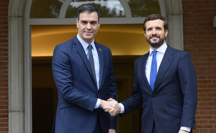 El diario critica la excesiva polarización política que arrastra España