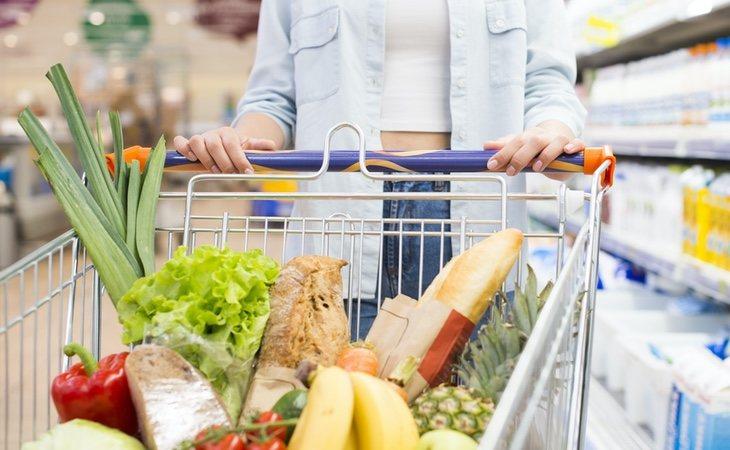 Los productos alimentarios se encuentran incluidos
