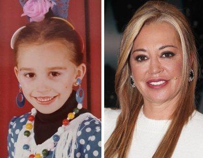 Belén Esteban comparte una foto de su infancia y era clavada a su hija Andreíta