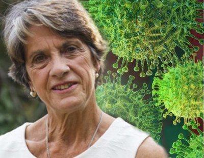 La franquista Pilar Gutiérrez, detrás de la Plataforma de Afectados por el coronavirus que ataca al Gobierno