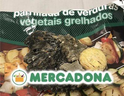 Compra una bolsa de verdura de Mercadona y se encuentra una piedra de carbón de 132 gramos