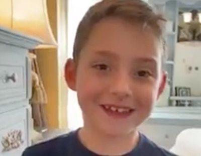 El emotivo mensaje de un niño con enfermedad pulmonar incurable tras superar el coronavirus