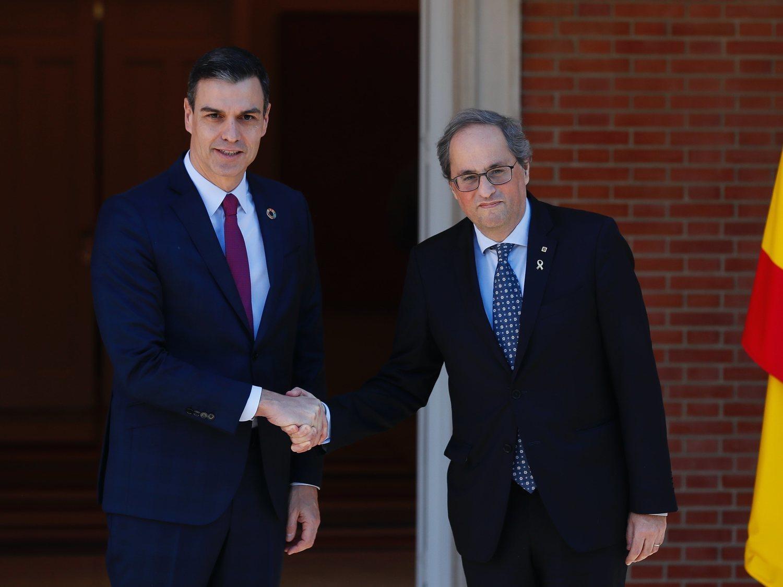 Quim Torra pide al Estado que pague el agujero económico del coronavirus en Cataluña