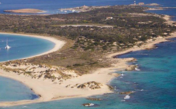La isla en la que Lambies ha pasado su cuarentena hasta la fecha