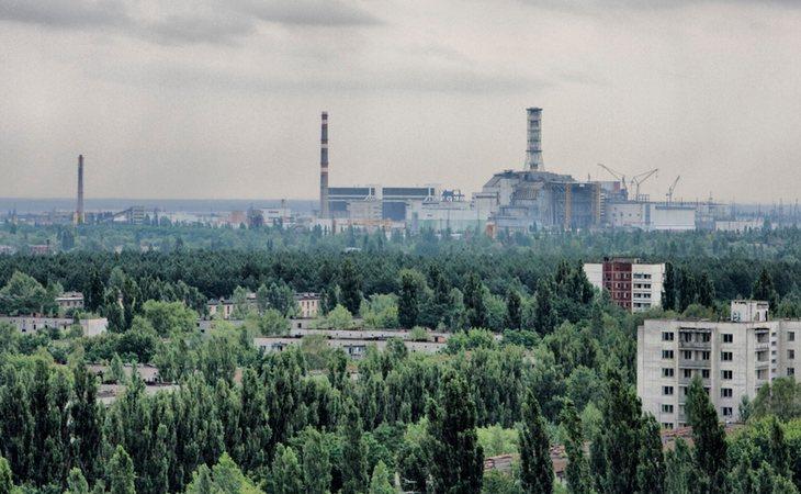 Las llamas ponen en peligro la seguridad de Chernobyl