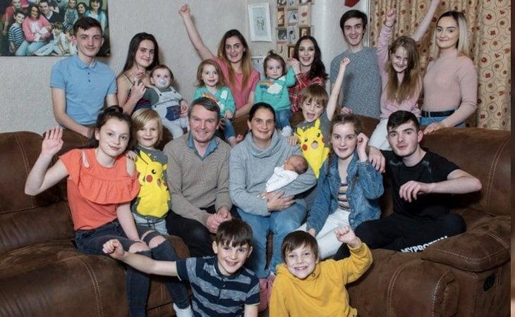La pareja ya tiene 22 hijos