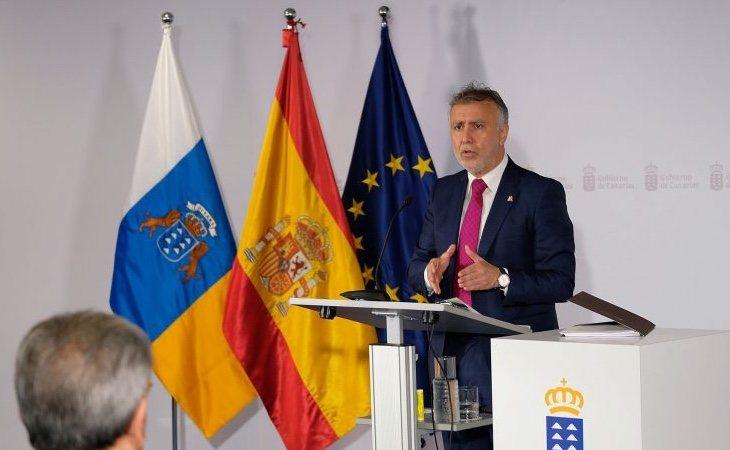 El presidente de Canarias, Ángel Víctor Torres, trabaja en un plan de desconfinamiento coordinado con el Gobierno central