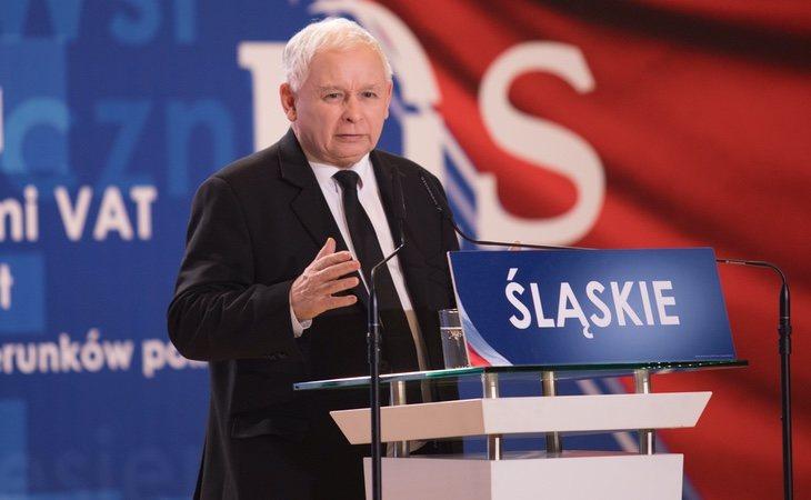 El ex primer ministroJaroslaw Kaczynski es quien maneja realmente la línea ideológica del Ejecutivo