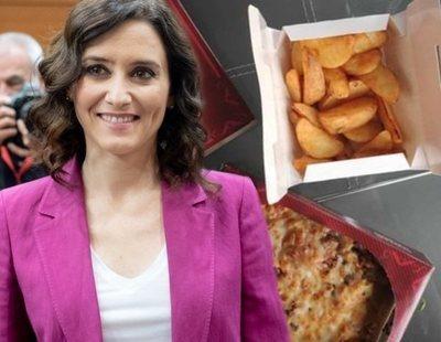 La FAPA denuncia a Ayuso: los niños de Madrid llevan más de un mes alimentándose de Telepizza