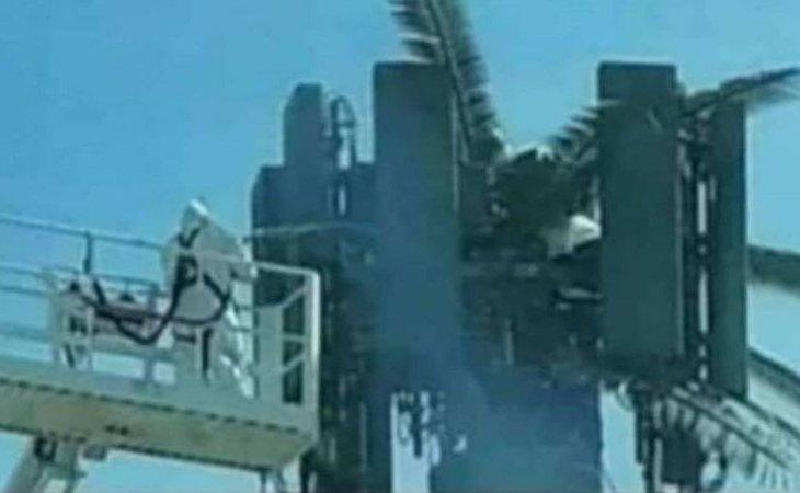 Imagen que ha circulado sobre el bulo ocntra las antenas 5G
