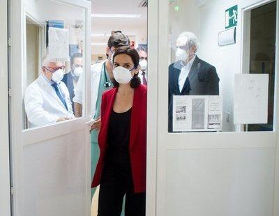 Ayuso envía al paro a los profesionales sanitarios que se han enfrentado al coronavirus
