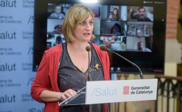 La consellera de Salud, Alba Vergés, descartó adoptar medidas cuando se registró el primer positivo en Barcelona
