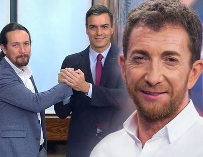"""Pablo Motos ataca a Pedro Sánchez y Pablo Iglesias: """"Parecen Pepe Gotera y Otilio"""""""