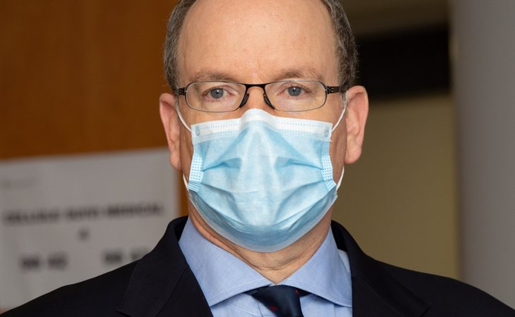 Alberto de Mónaco fue diagnosticado de coronavirus pero ha logrado superar la enfermedad