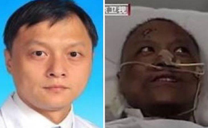 Uno de los médicos afectados por el tratamiento