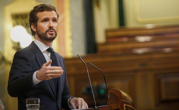 Pablo Casado ha utilizado un informe contra el Gobierno cargado de sombras