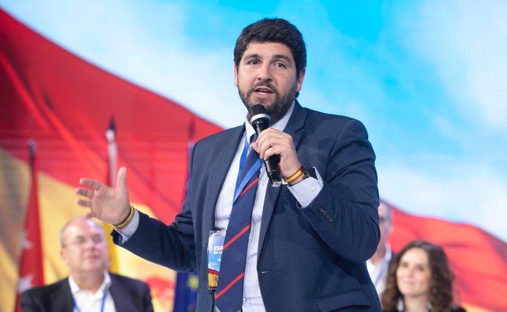 El presidente de Murcia, Fernando López Miras, se ha subido el sueldo en 3.000 euros