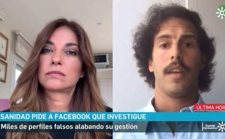 Mariló Montero promociona la empresa de su hijo desde Canal Sur