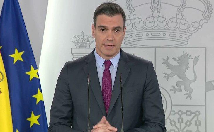 Pedro Sánchez: 'Hemos logrado doblegar la curva de propagación de la epidemia'