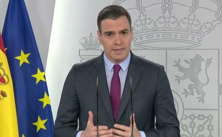 Pedro Sánchez: '¿Cómo será la desescalada? Esa transición será gradual, asimétrica y coordinada'.