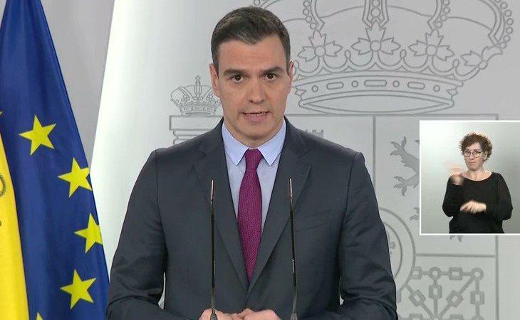 Pedro Sánchez: 'En la fase 0 se abrirán pequeños resquicios de actividad económica: la apertura de locales con cita previa'