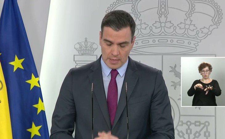 Pedro Sánchez: 'En la fase 2 se abrirá el espacio interior de los locales de restauración para el servicio de mesas.