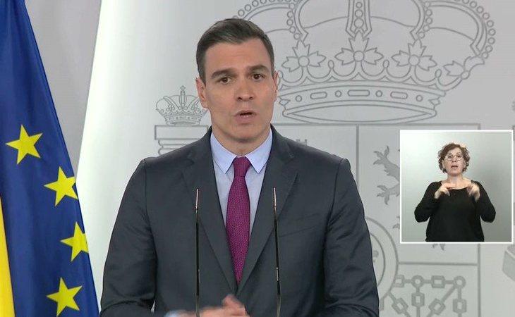 Pedro Sánchez: 'En la fase 2 hemos establecido excepciones para reabrir centros educativos con tres propósitos: actividades de refuerzo, garantizar ...